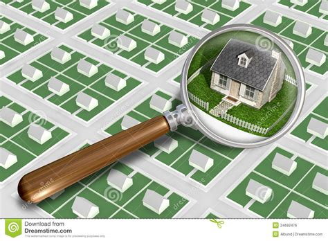 find my perfect house find the perfect house royalty free stock image image