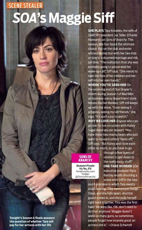 tara sons of anarchy hair color 29 best images about maggie siff on pinterest her hair
