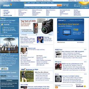 msn home page msn home page gets a major lift