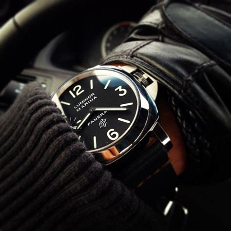 more classic panerai luminor marina wrist
