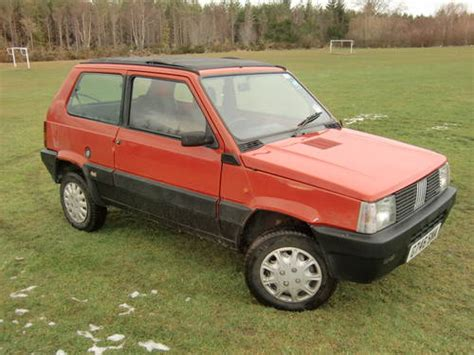 classic fiat panda fiat panda 4x4 classic sold 1989 on car and classic uk