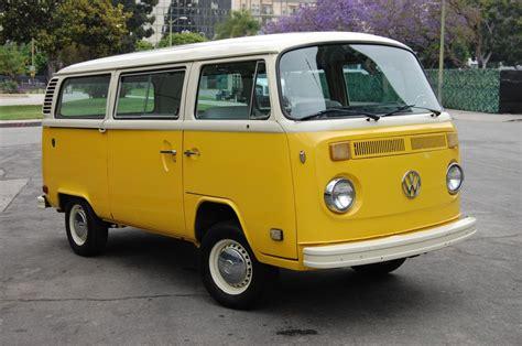 new volkswagen bus yellow 1978 vw bus