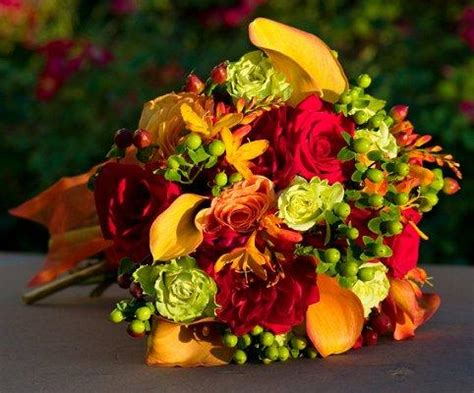 Fall Flower Wedding Arrangements by Fall Flower Arrangements For Weddings Slideshow
