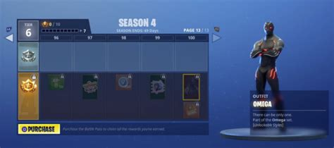 fortnite unlockables how to unlock the omega skin in the fortnite season 4