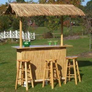 Build Your Own Tiki Bar Looking To Build A Tiki Bar In Your Backyard Free Plans