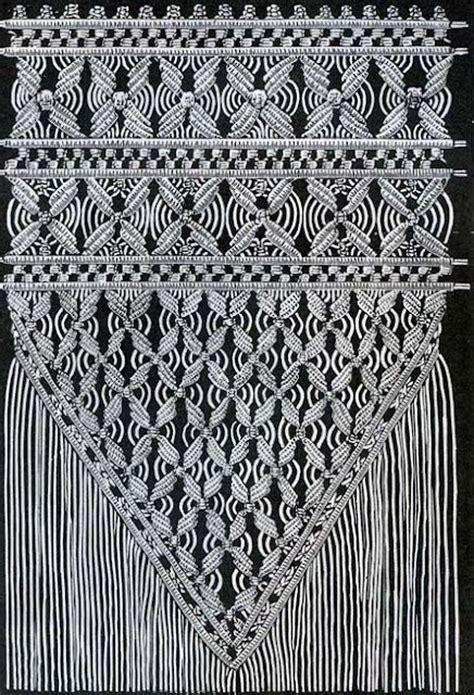 free macrame curtain patterns meer dan 1000 idee 235 n over free macrame patterns op