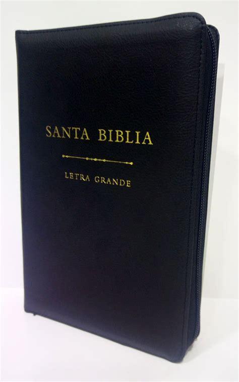 biblia letra grande tamano biblia rvr60 letra grande tama 241 o manual i piel negro c rvr60 9780718092665 comprar libro