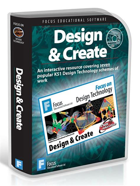 design and make design technology resources by focus educational software