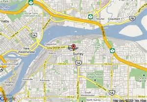 surrey canada map map of econo lodge surrey surrey