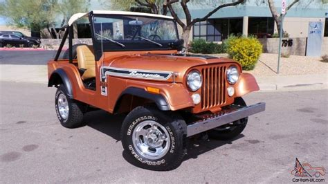 1974 Jeep Cj5 1974 Jeep Cj5 Renegade 304ci V8 4x4 3 Speed Warn Hubs