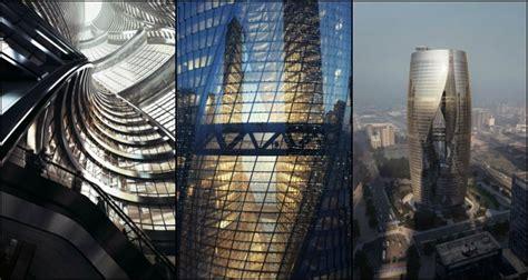 zaha hadids leeza soho tower features  worlds largest