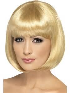Dark blonde partyrama wig 42393 fancy dress ball