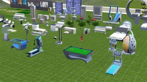 Kitchen Mobile Island All Into The Future Objects Sims Community