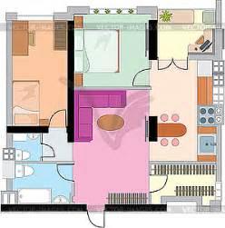 Wohnung Zeichnung by Wohnung Zeichnung Vektor Clipart
