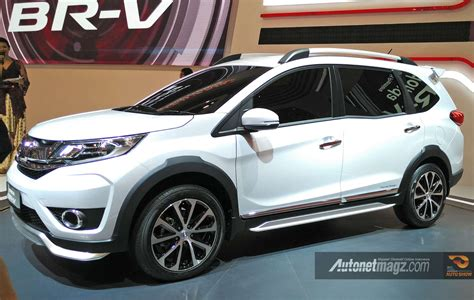 Honda Br V Debuts In Indonesia India Bound In 2016