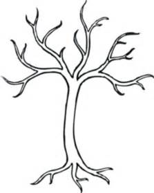 Leafless Tree Branch Outline by Coloring Bare Tree Md Free Images At Clker Vector