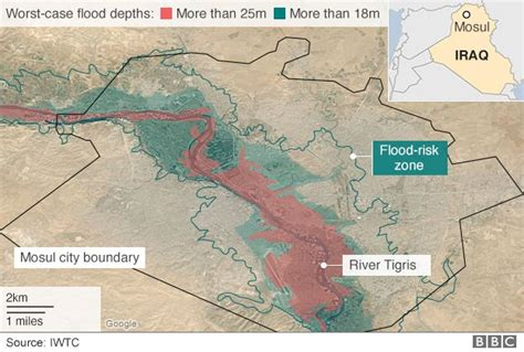 Hår 2016 Dam by Mosul Dam Engineers Warn It Could Fail At Any Time