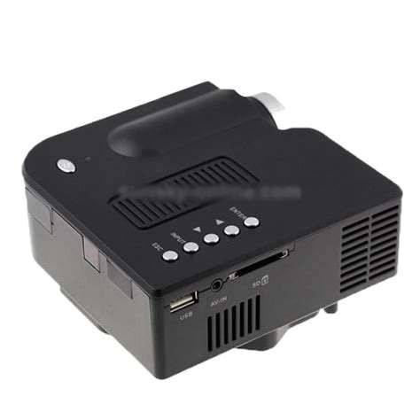 Led Projector Murah unic p led projector 40 ansi lumens 1080p support usb