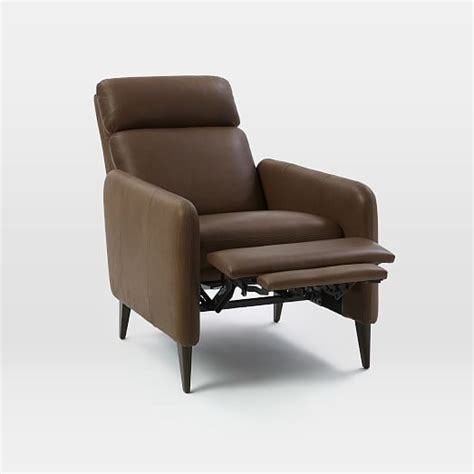 Lewis Recliner by Lewis Leather Recliner West Elm