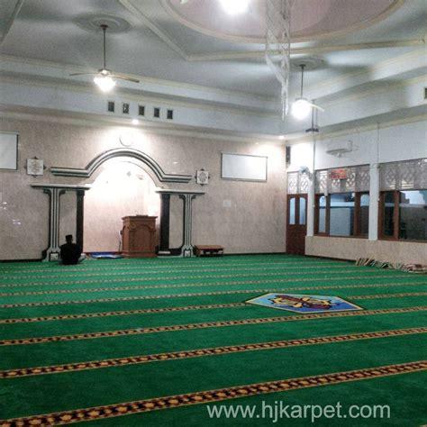 Karpet Masjid Di Batam pemasangan karpet masjid supm tegal hjkarpet
