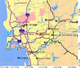 la mesa california map la mesa california ca 91942 92120 profile population