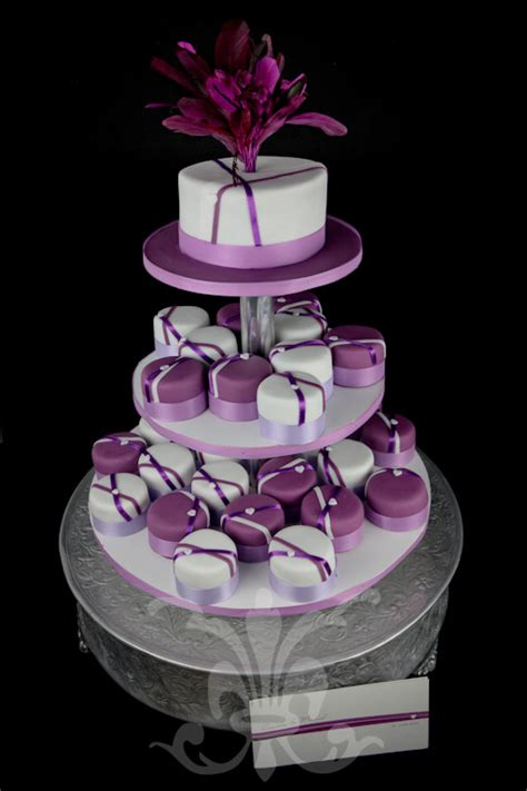 Hochzeitstorte Violett by Hochzeitstorte Violet The Cakery Torten