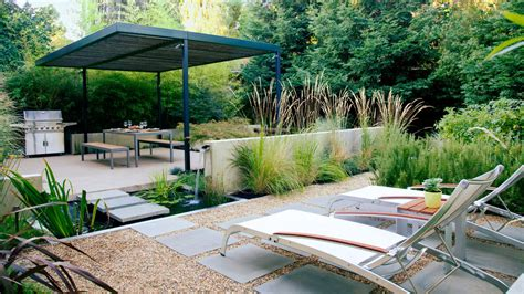 small backyard design ideas sunset