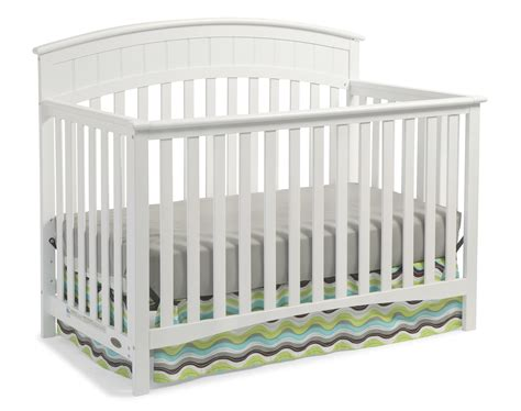 graco white convertible crib graco charleston convertible crib white