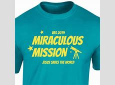 VBS Custom T-Shirt - Miraculous Mission VBS V And S Logo Design