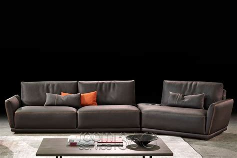gamma sofa victor leather sectional sofa by gamma arredamenti room