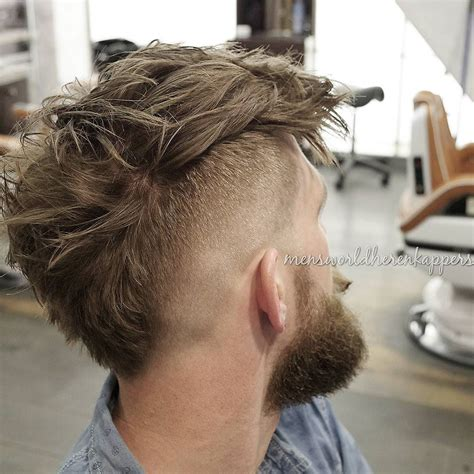 wide mohawk fade short on neck 15 modern haircuts for men