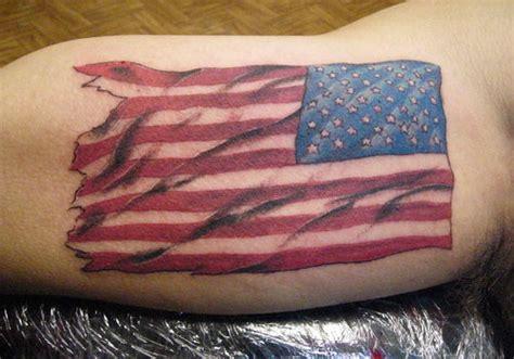 31 Patriotic American Flag Tattoos Creativefan Flag Tattoos