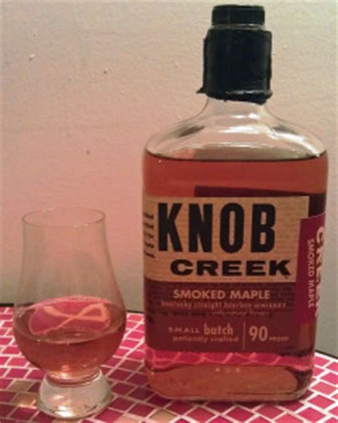 knob creek smoked maple bourbon review the whiskey reviewer