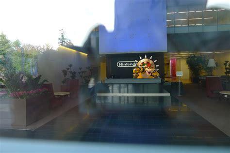 Front Desk Signs Nintendo Of America Hq Visit 2014 Game Usagi