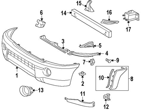 2006 toyota parts diagram 2006 toyota tacoma parts camelback toyota parts