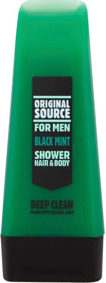 Original Source For Spearmint Shower Hair 250ml original source shower hair black mint clean 250ml shop abroad