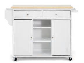 meryland white modern kitchen island cart baxton studio meryland kitchen island