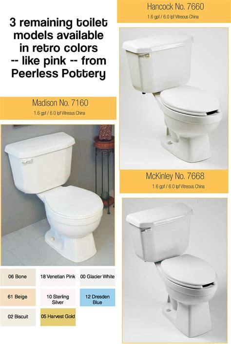 where to buy a commode where to buy pink blue beige and harvest gold toilets