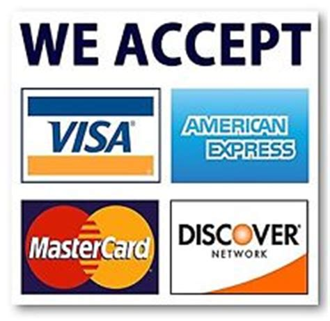 Best Selling Free Shipping Accept Credit Card Wholesale - visa mastercard sign ebay