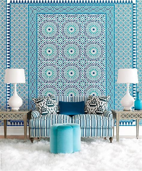 Elle Decor Celebrity Homes How To Mix Patterns In A Room