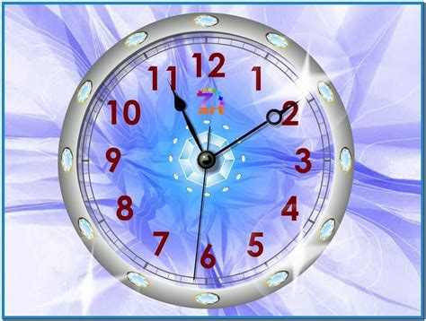 clock wallpaper for windows xp xp screensaver clock freeware download free