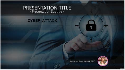 Free Cyber Attack Powerpoint 41094 Sagefox Powerpoint Templates Cyber Security Powerpoint Templates Free