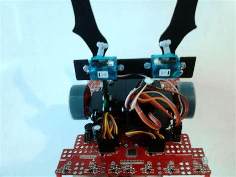 membuat robot gripper cara membuat gripper sendiri dengan acrylic robotic