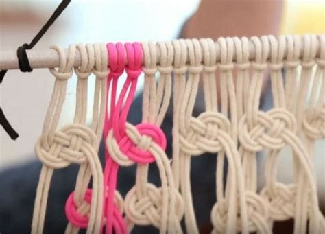 Simple Macrame Projects - easy macrame patterns diy projects craft ideas how to s