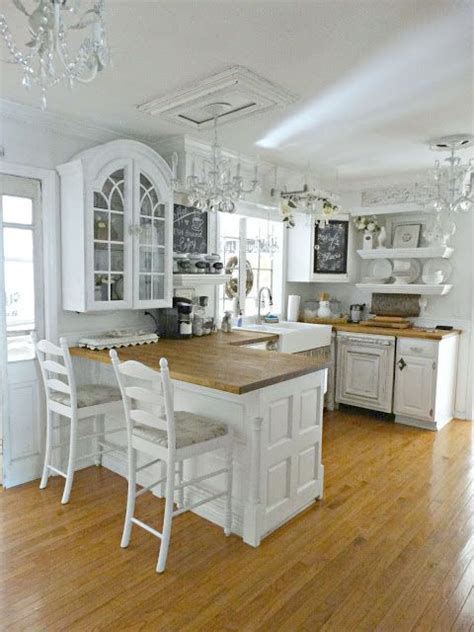 white kitchen decor 32 sweet shabby chic kitchen decor ideas to try shelterness