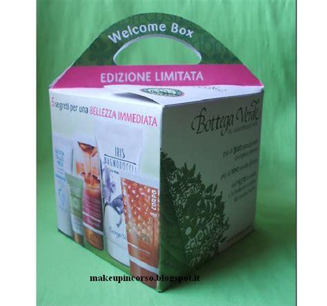 mi casa verde inc welcome make up in corso welcome box bottega verde premio
