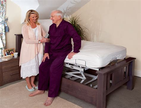oak adjustable bed   person bespoke adjustable beds