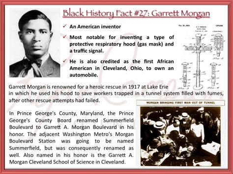 Who Created The Stop Light by Rcf Black History Fact 27 Garrett Inventor Of The