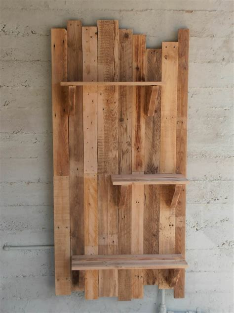 Pallet Shelf by Pallet Wall Shelves 1001 Pallets