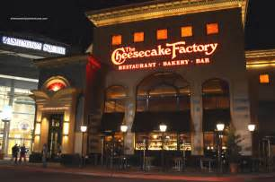 Cheesecake Factory Foods